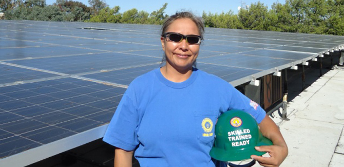 Environmental and Economic Benefits of Building Solar in California: Quality Careers—  Cleaner Lives